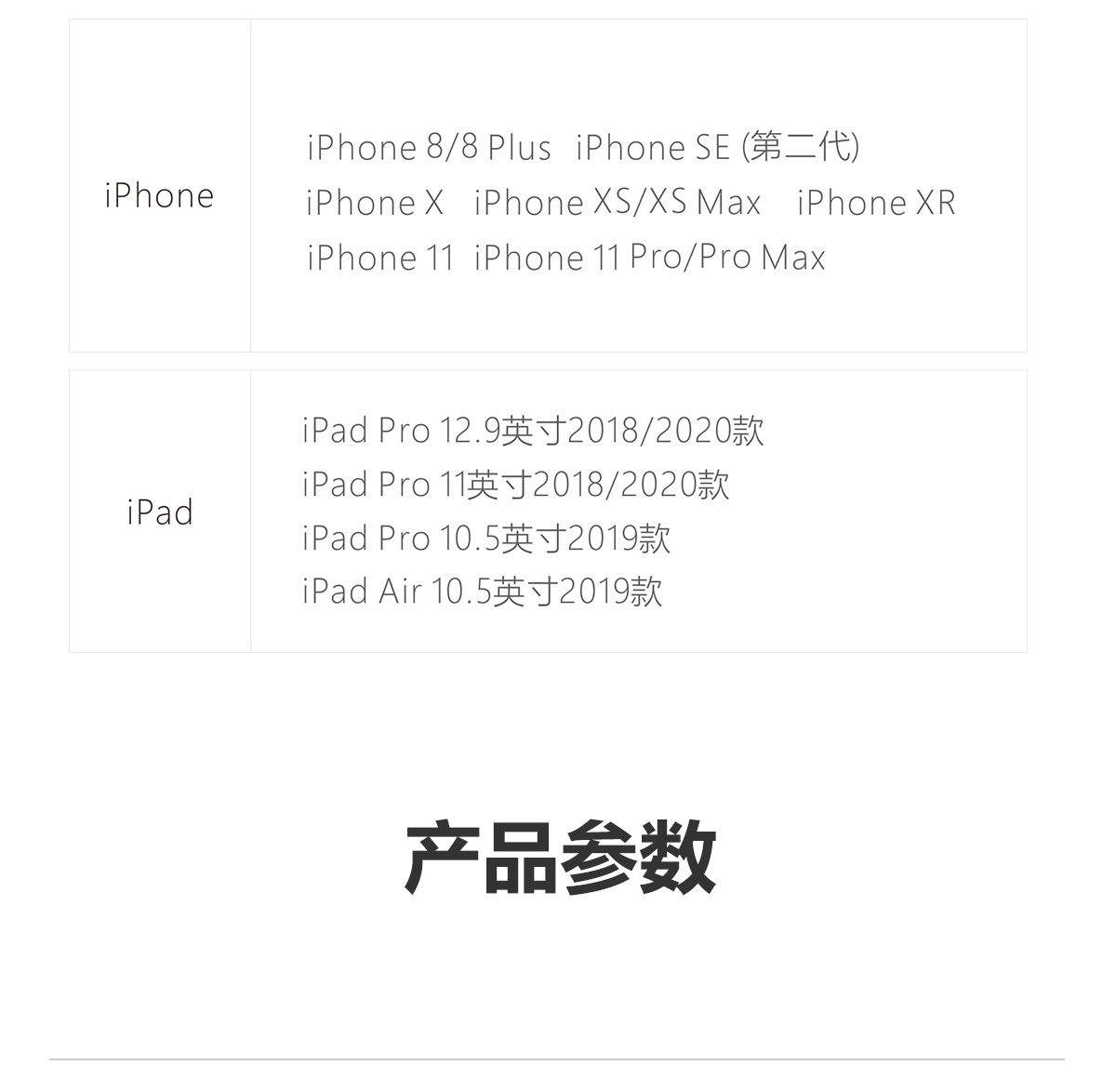 iPhone 全系列产品
